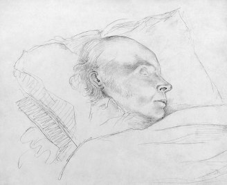 John Quincy Adams, dying
