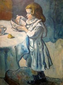 Greedy child, Picasso